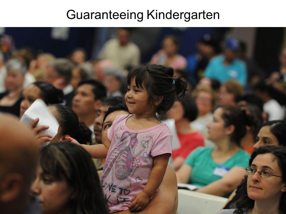 Guaranteeing Kindergarten