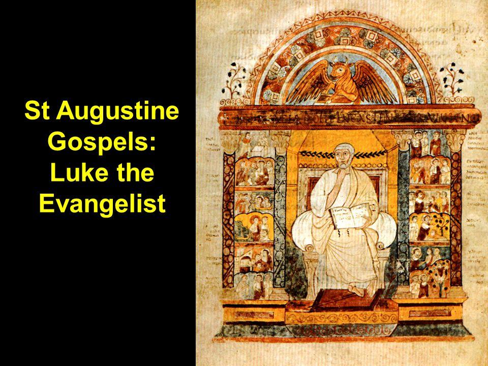 St Augustine Gospels: Luke the Evangelist