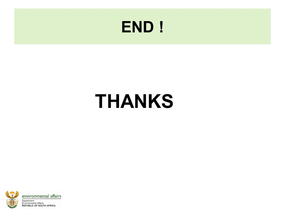 THANKS END !
