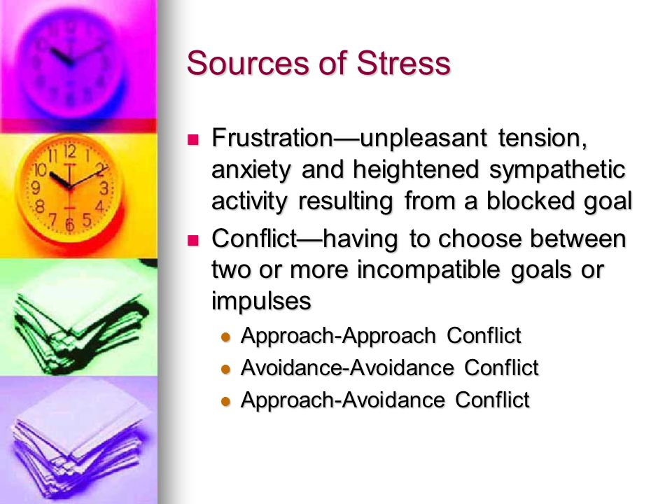 Stress and the Body When under stress, the body responds to increase heart rate, available energy and heighten awareness.