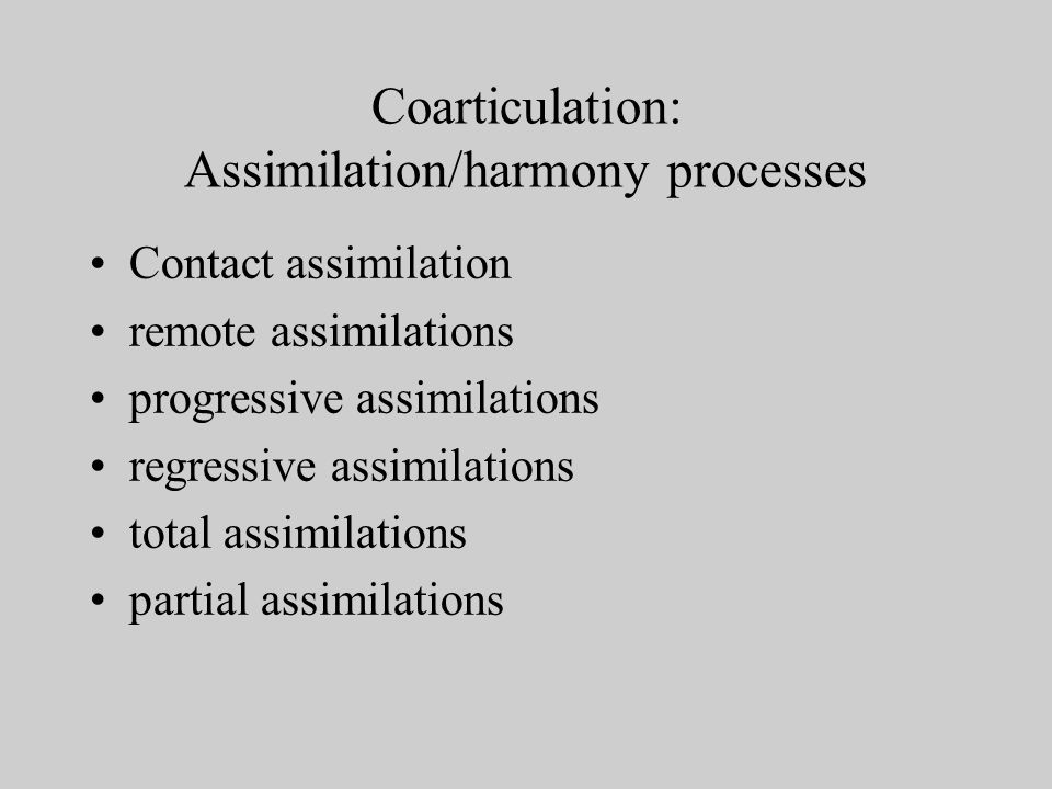 Hallmarks of phonetic disorders: Preservation of phonemic contrasts even subtle contrasts may signal phonetic (not phonemic) difficulties Peripheral, motor-based problems look for consistent pattern or explanations of inconsistencies lack of cognitive/linguistic problems lack of perceptually based problems