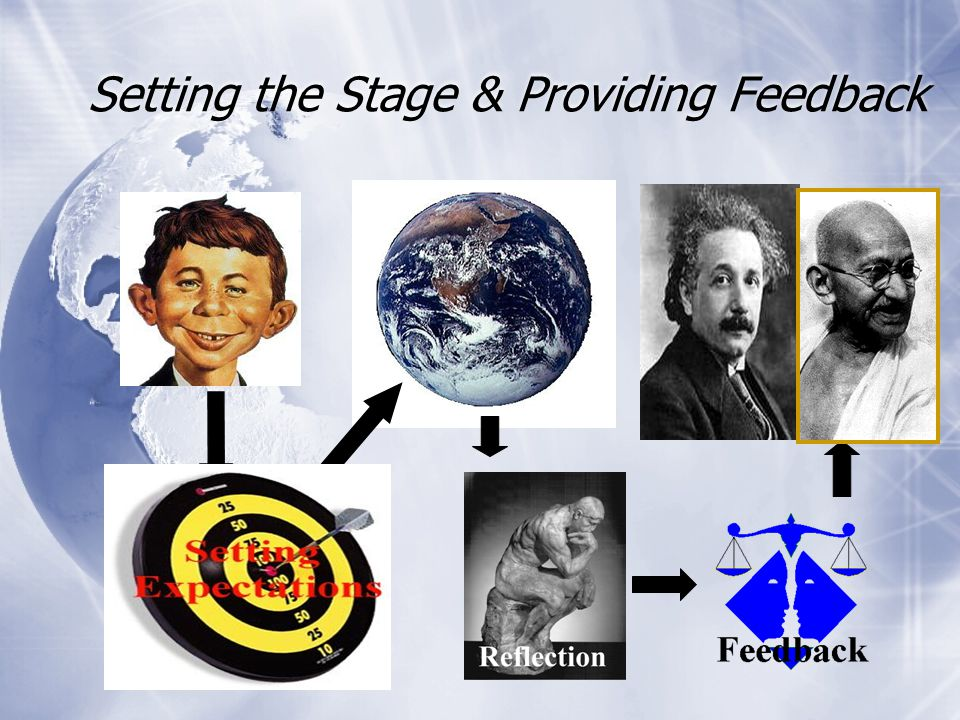 Setting the Stage & Providing Feedback