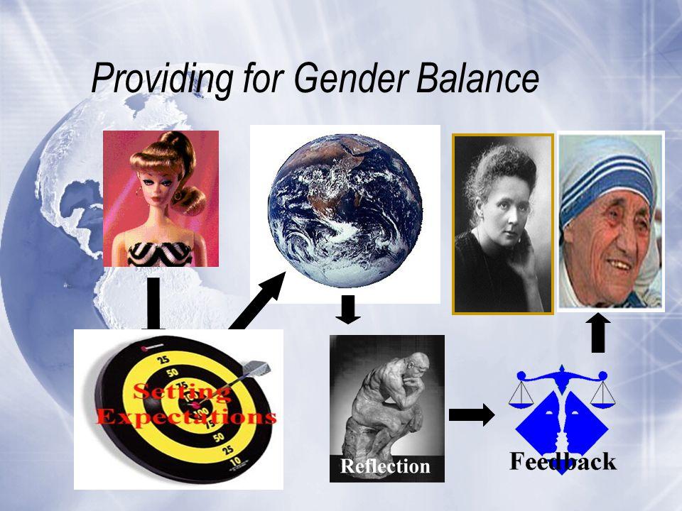 Providing for Gender Balance