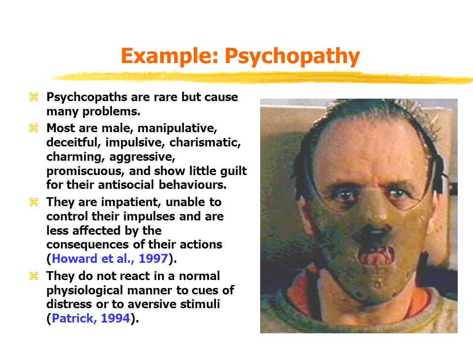 Psychopathy as an Adaptation.