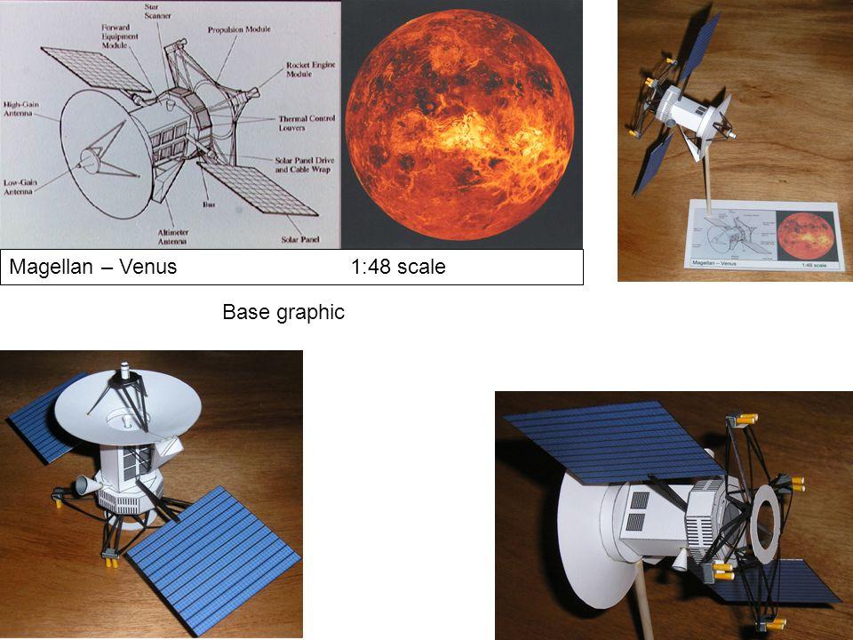 Magellan – Venus1:48 scale Base graphic