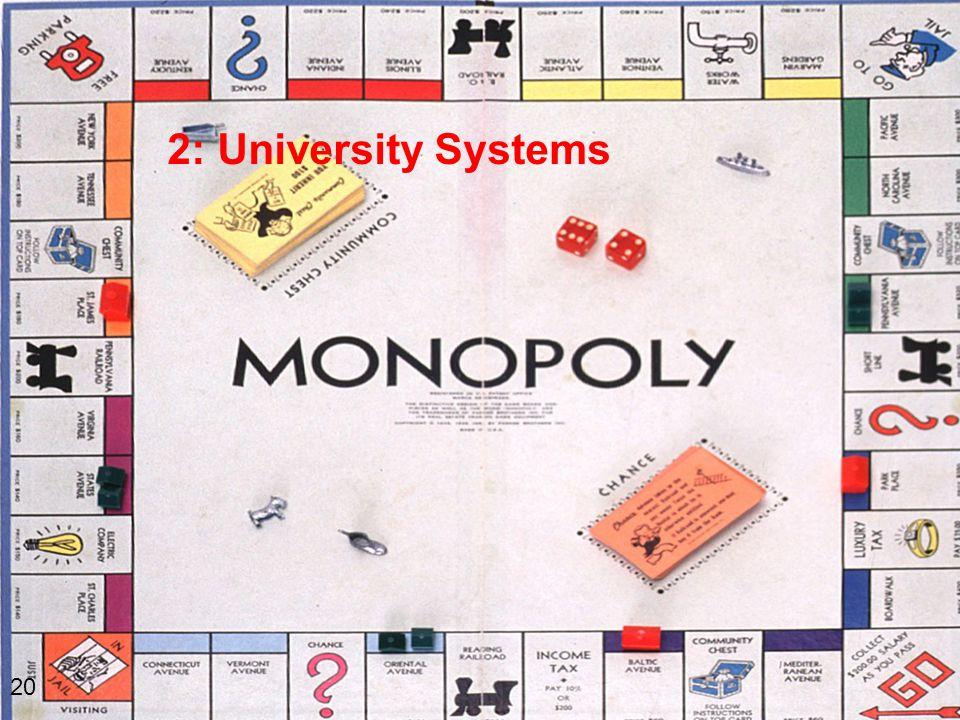 2: University Systems 20