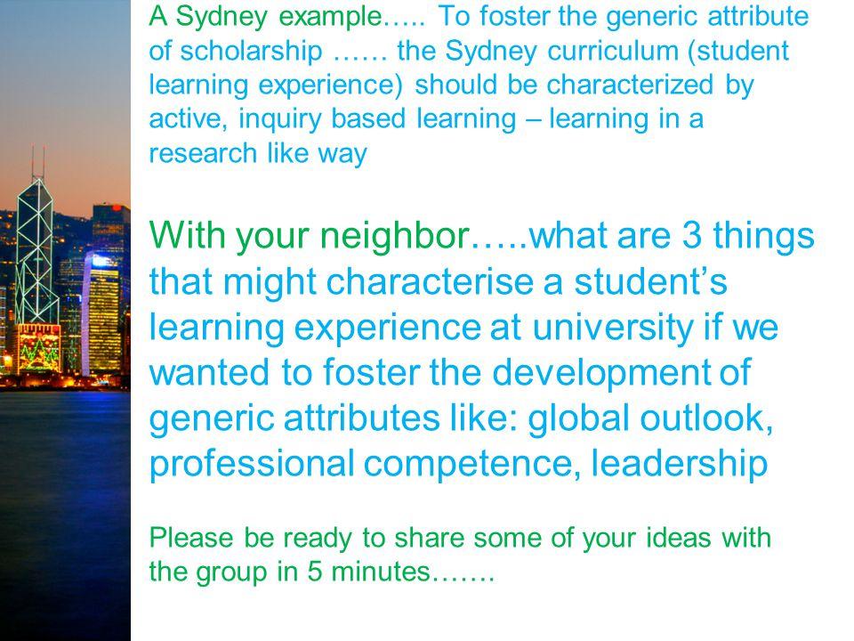 A Sydney example…..