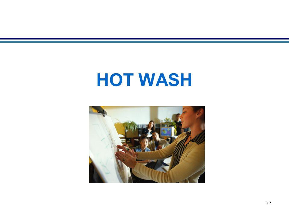 73 HOT WASH