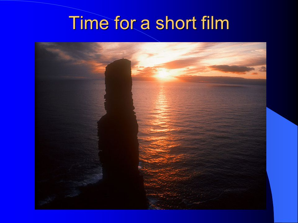 Time for a short film