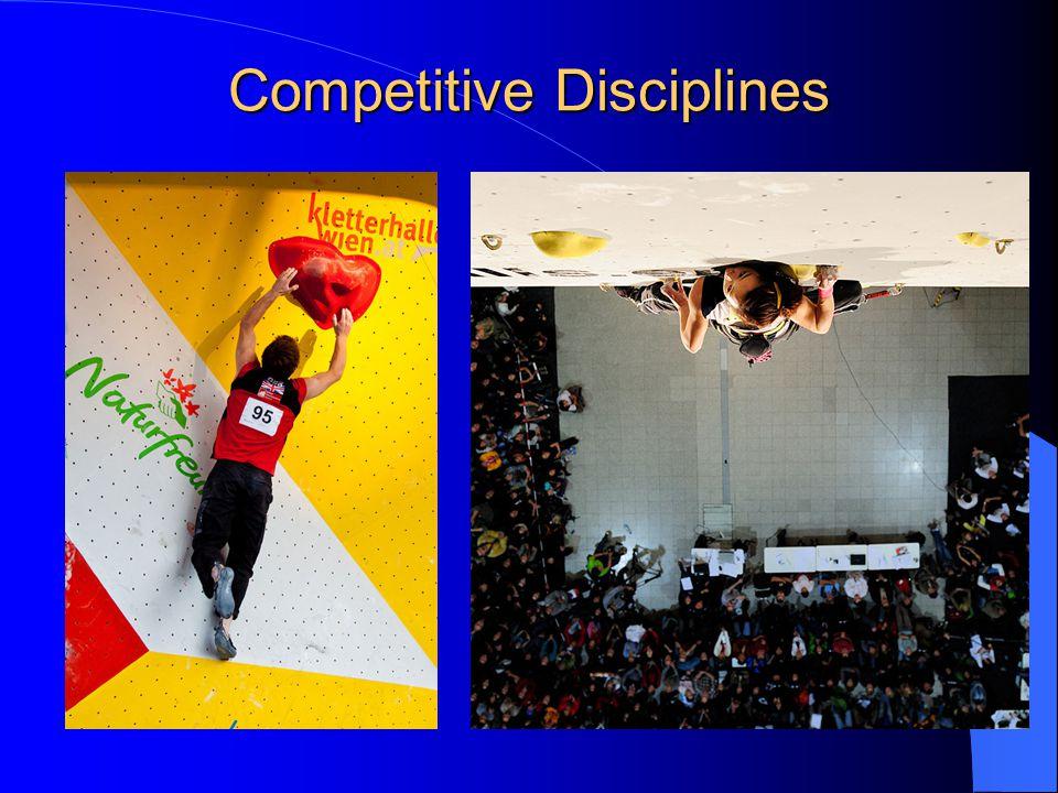 Competitive Disciplines