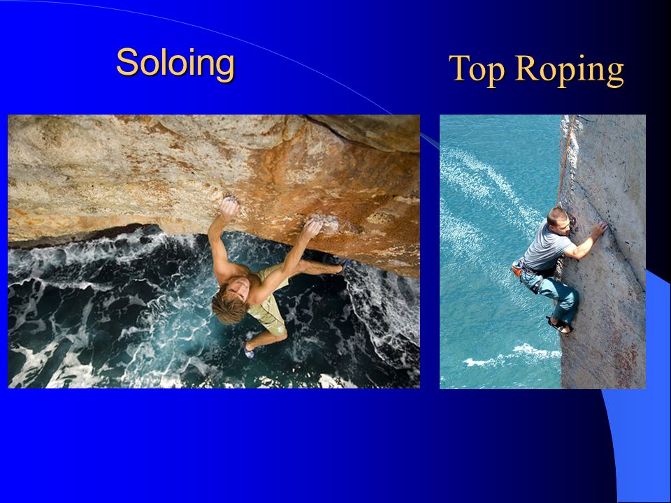 Soloing Top Roping