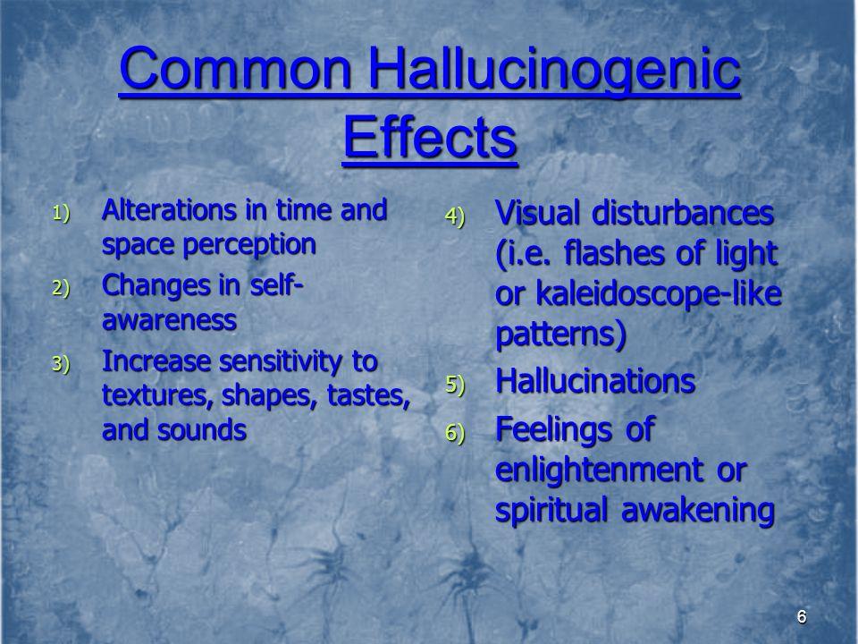 27 Serotonin-like Hallucinogens