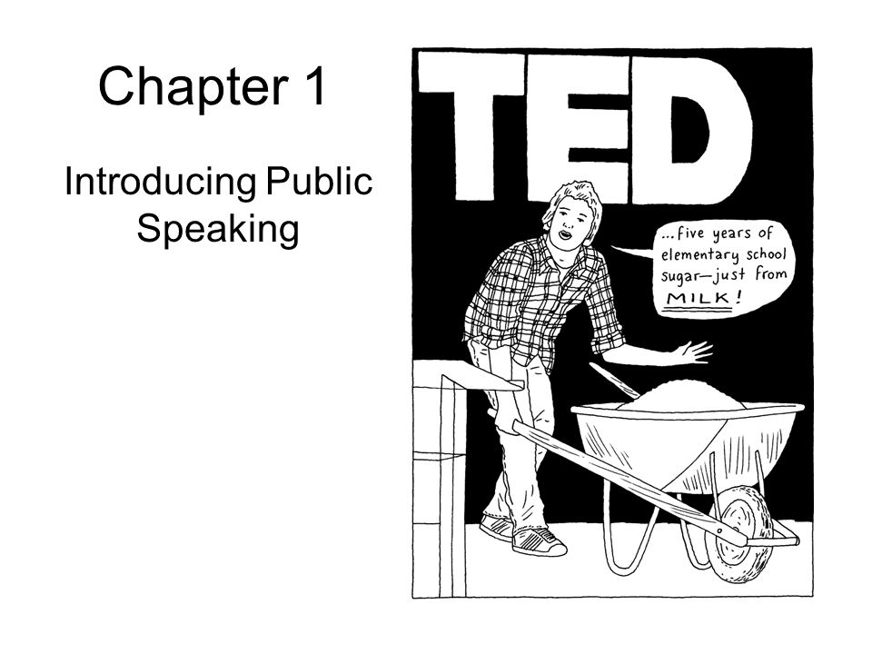 Chapter 1 Introducing Public Speaking