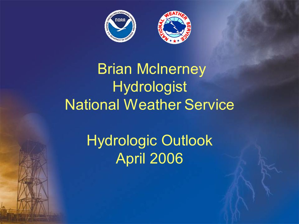 Hydrologic Outlook Temperature