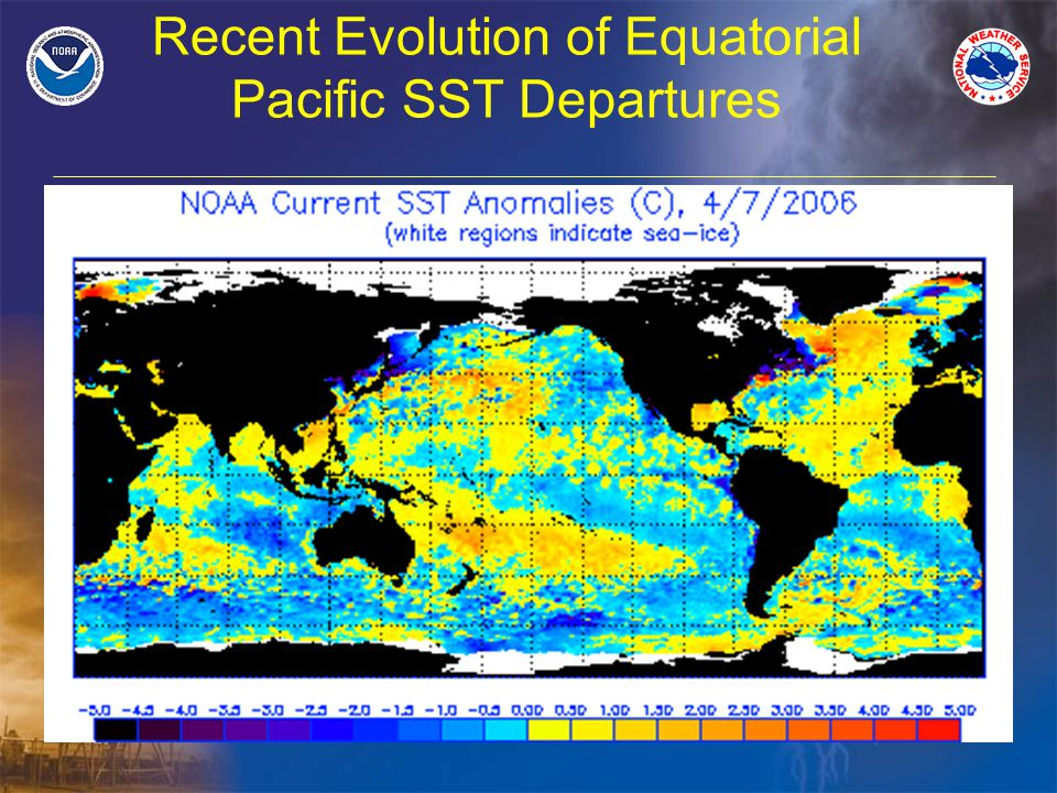 Recent Evolution of Equatorial Pacific SST Departures