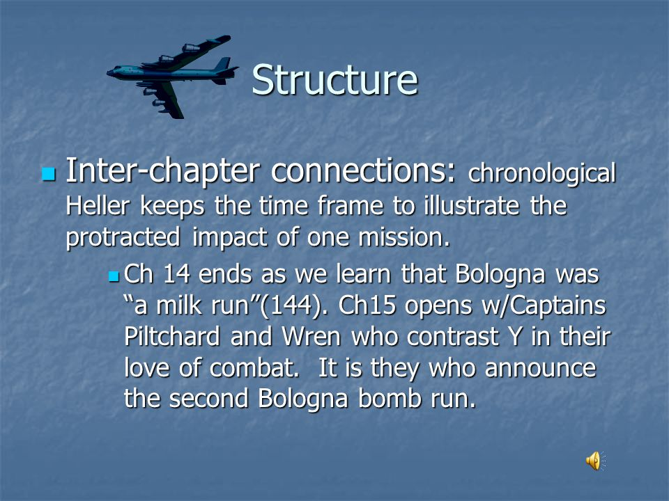 Chapter 15 Piltchard and Wren Or... The Bombastic Bombardier Balks at Bombing Bologna