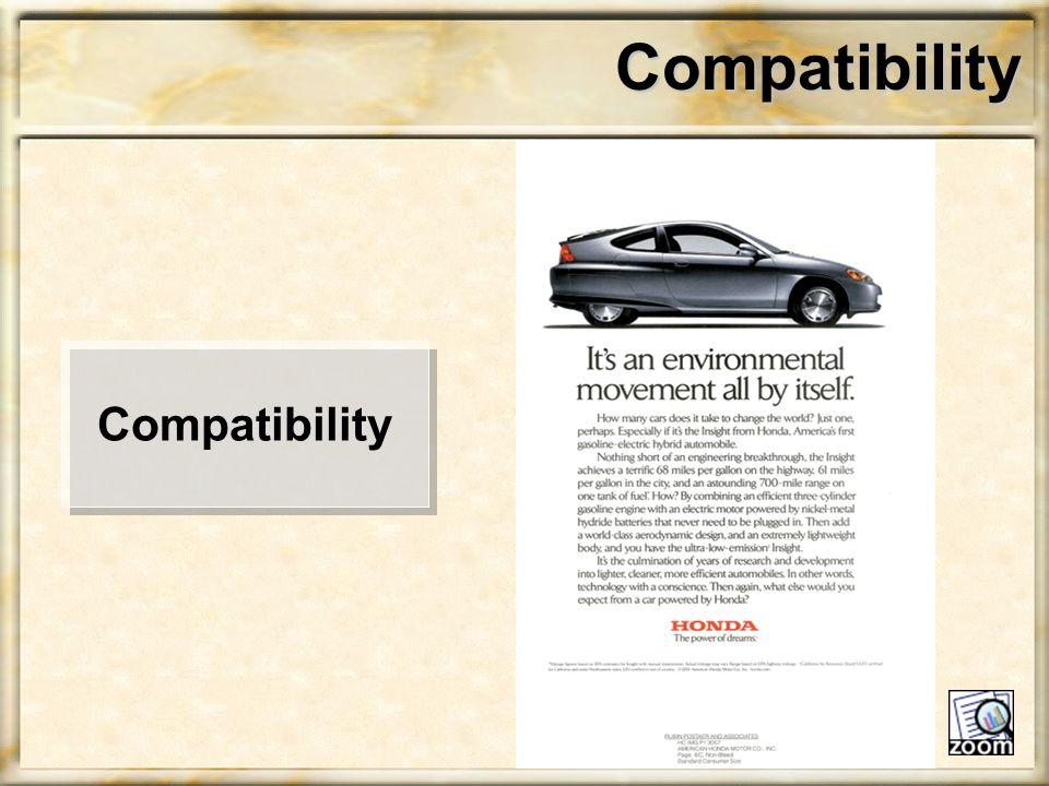 Compatibility Compatibility