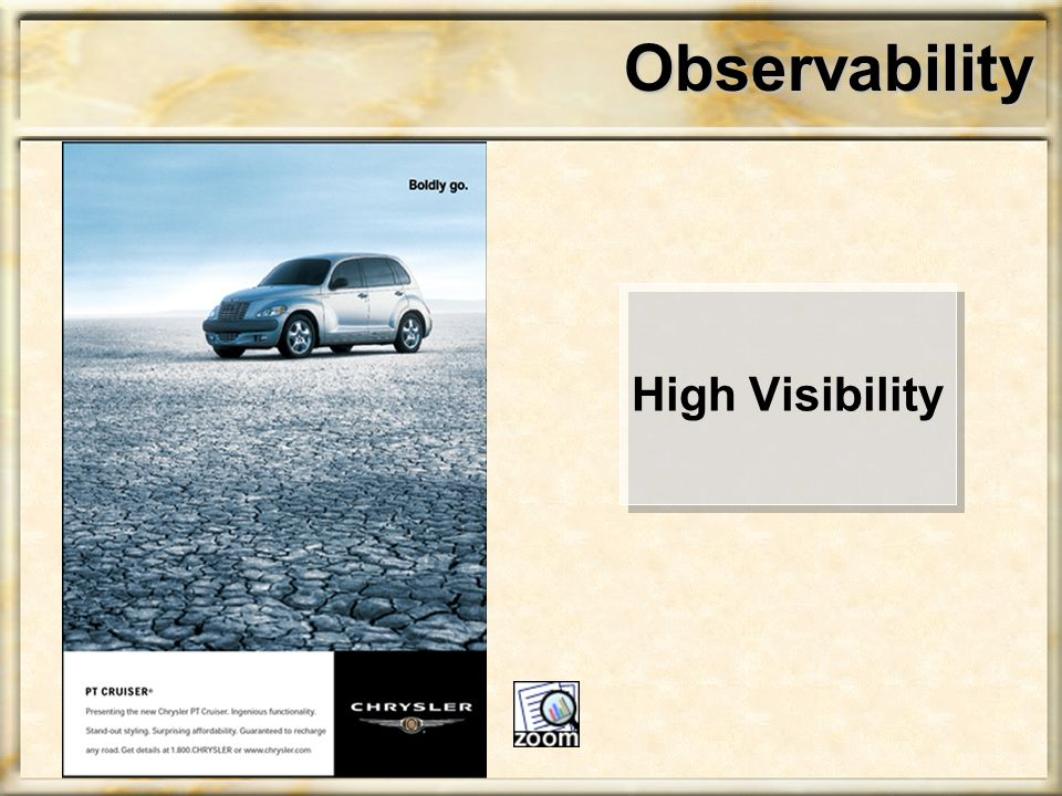 Observability High Visibility
