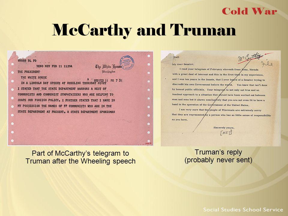 Murrow on McCarthy Noted CBS newscaster Edward R.