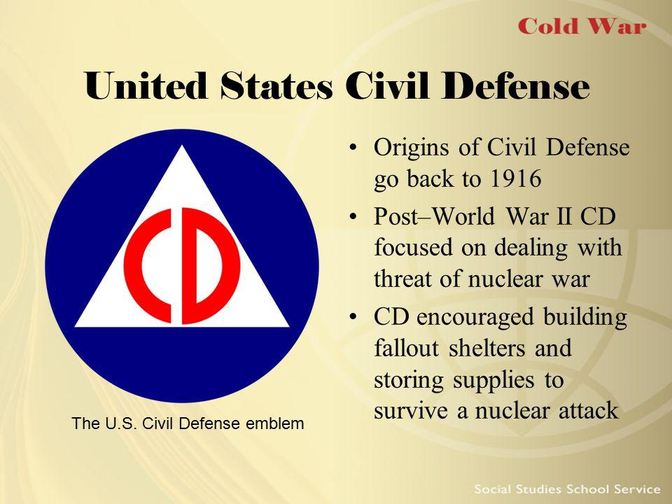 Civil Defense Posters