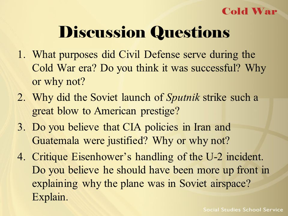 Flexible Response Kennedy Administration policy Allowed for more options for dealing with Soviet threats U.S.