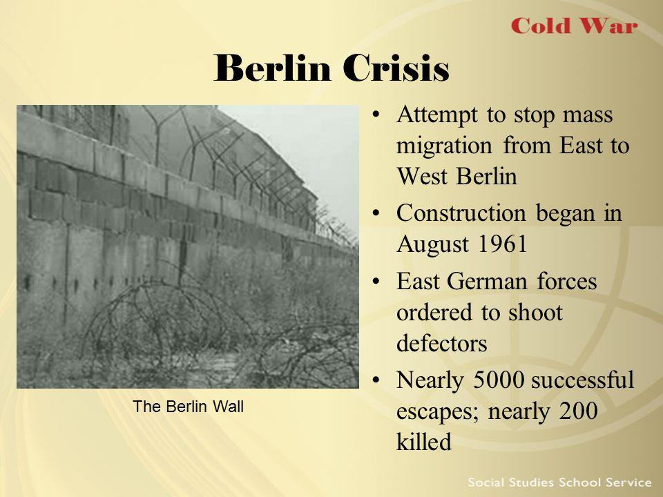 Kennedy at the Berlin Wall 1963 speech by JFK at the Berlin Wall Famous quote: Ich bin ein Berliner Kennedy's speech set tone of defiance against Soviet oppression in Berlin JFK speaks at the Berlin Wall