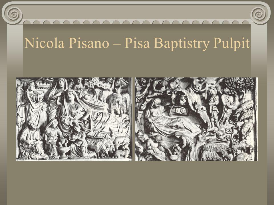 Nicola Pisano – Pisa Baptistry Pulpit