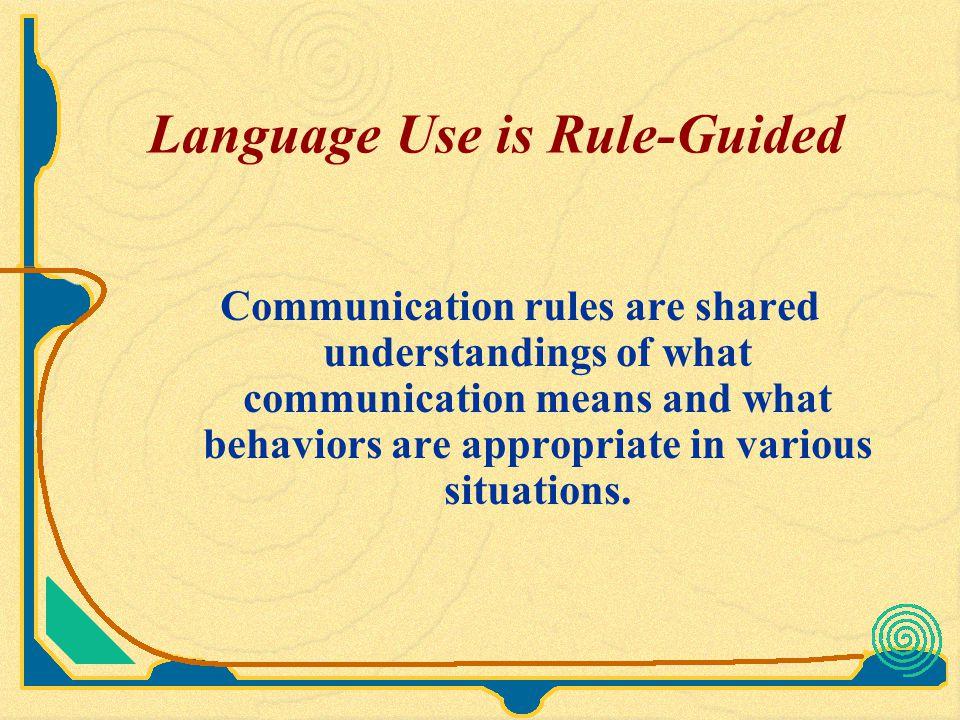 Regulative Rules 1.