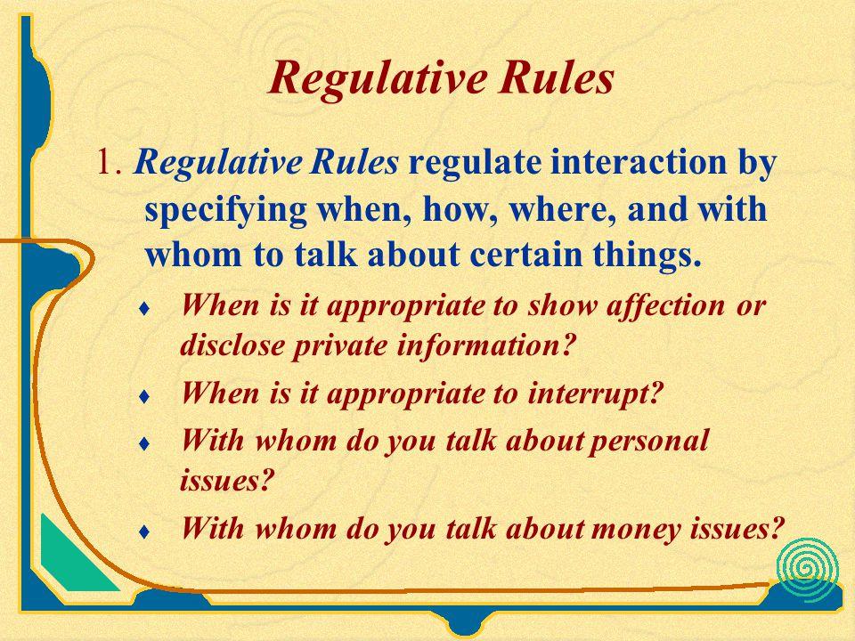 Constitutive Rules 2.