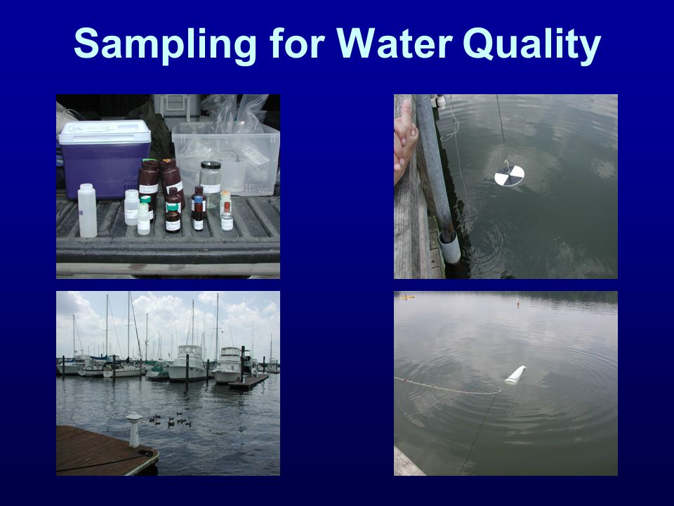 Sampling for Water Quality