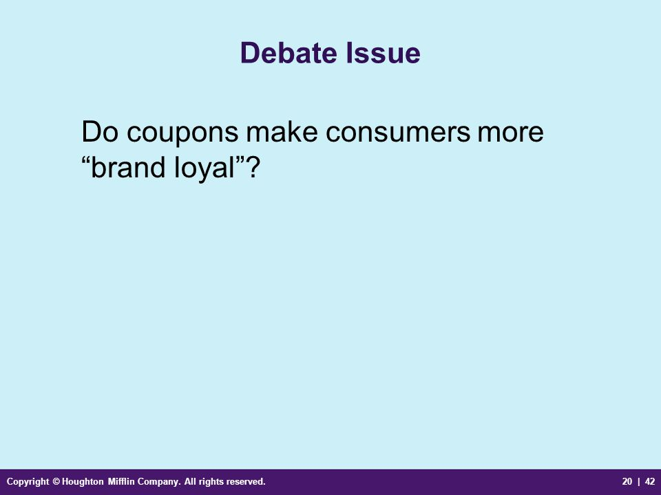 """Copyright © Houghton Mifflin Company. All rights reserved.20 
