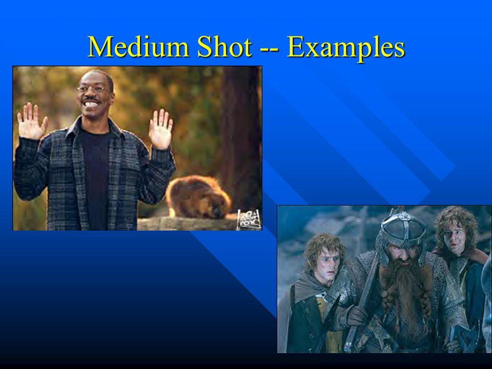 Medium Shot -- Examples