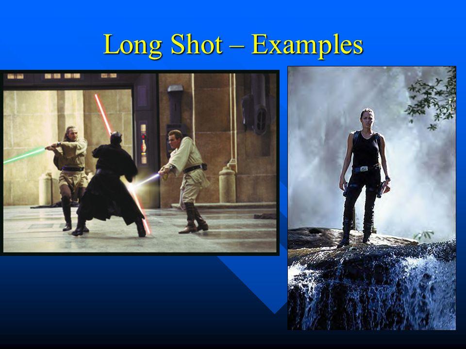 Long Shot – Examples