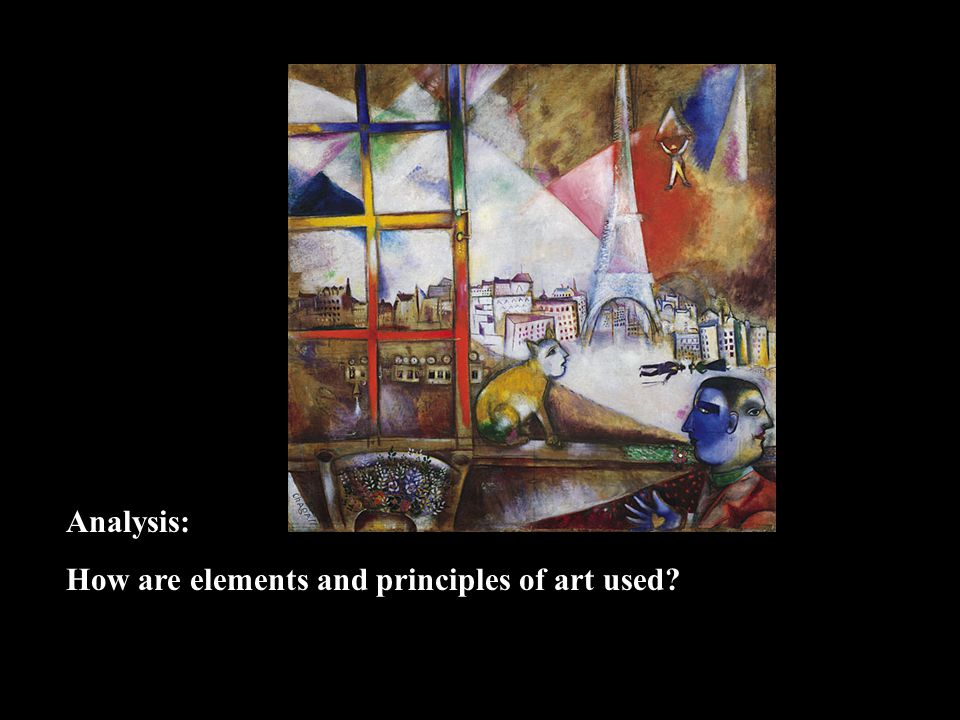 Analysis: How are elements and principles of art used?