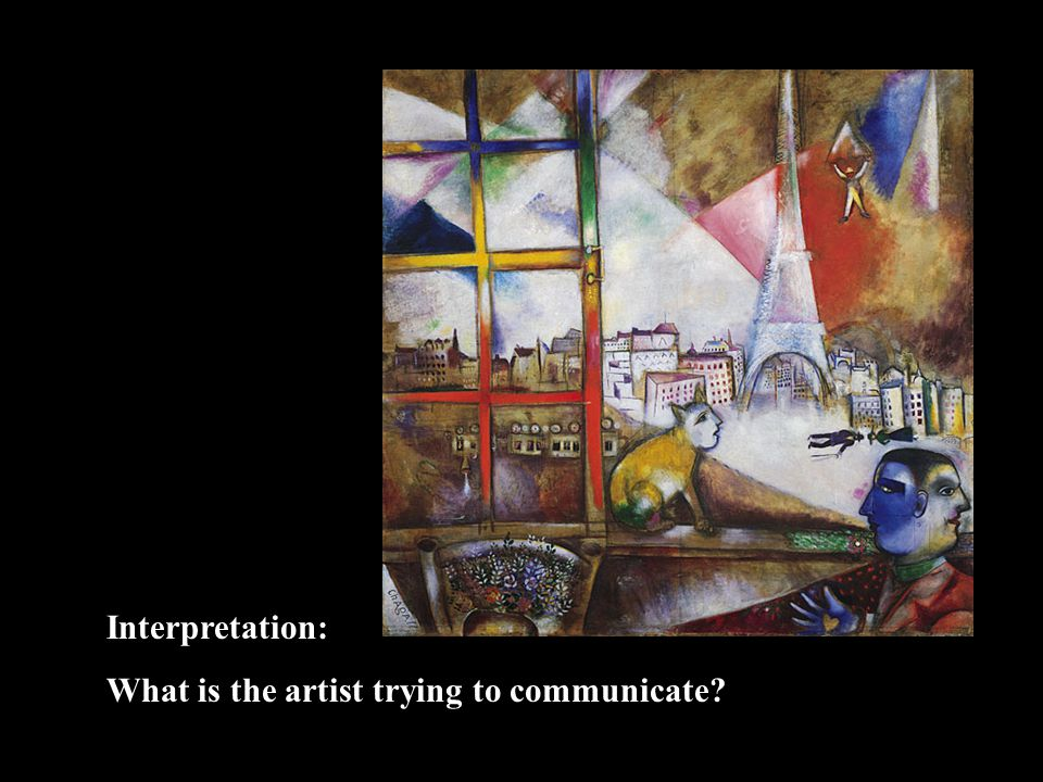 Interpretation: What is the artist trying to communicate?