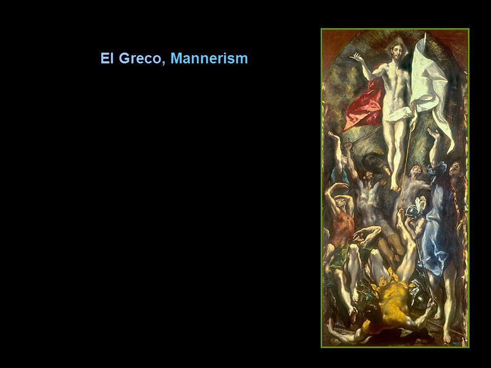 El Greco, Mannerism