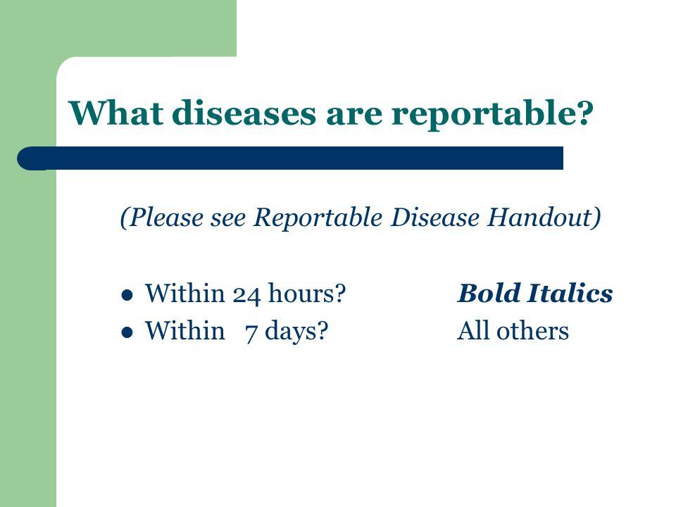 Hepatitis B (acute) 67 reported cases of Acute Hepatitis B Virus in NC in 2011 as of week 28 (July 17 th, 2011, CDC MMWR)