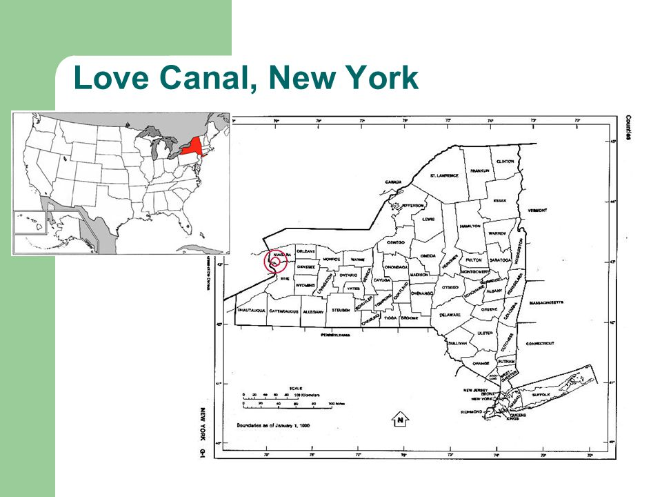 Love Canal, New York