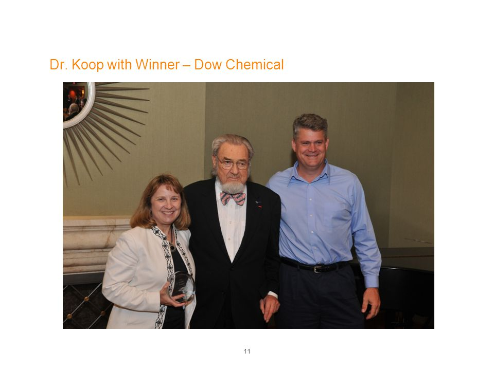 Dr. Koop with Winner – Dow Chemical 11