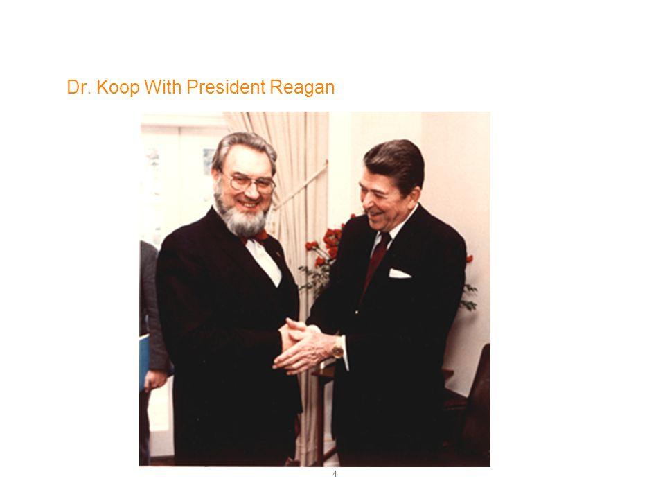 Dr. Koop With President Reagan 4