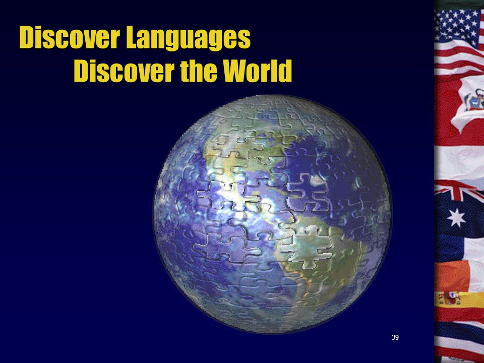39 Discover Languages Discover the World