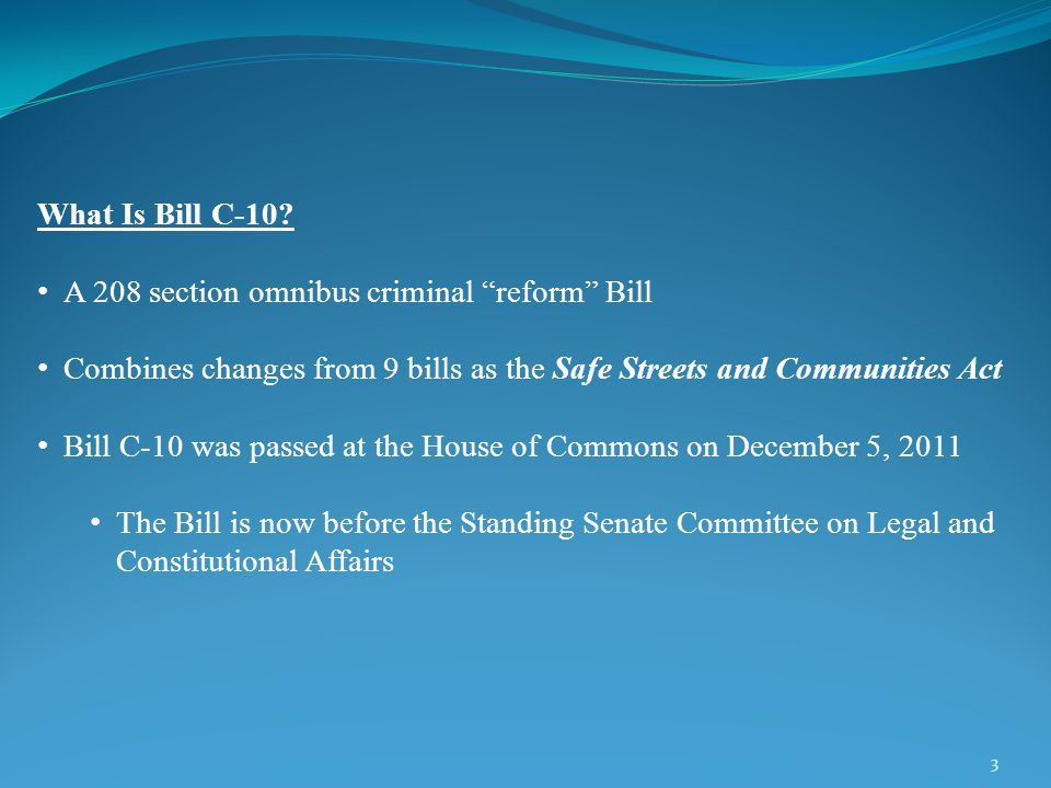 3 What Is Bill C-10.