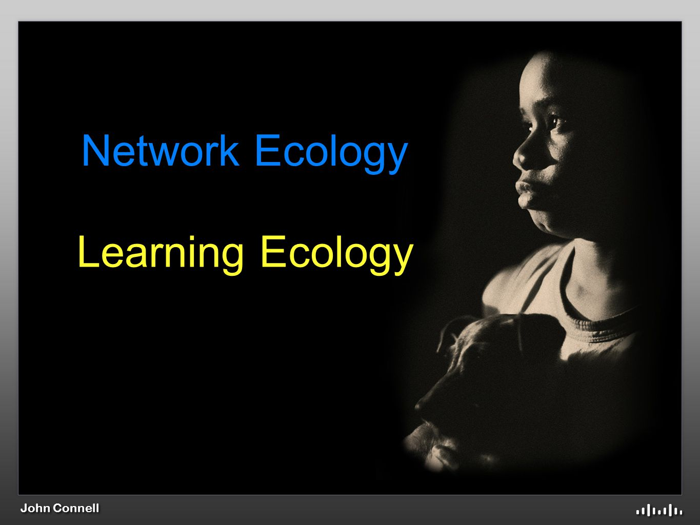 John Connell Network Ecology Learning Ecology