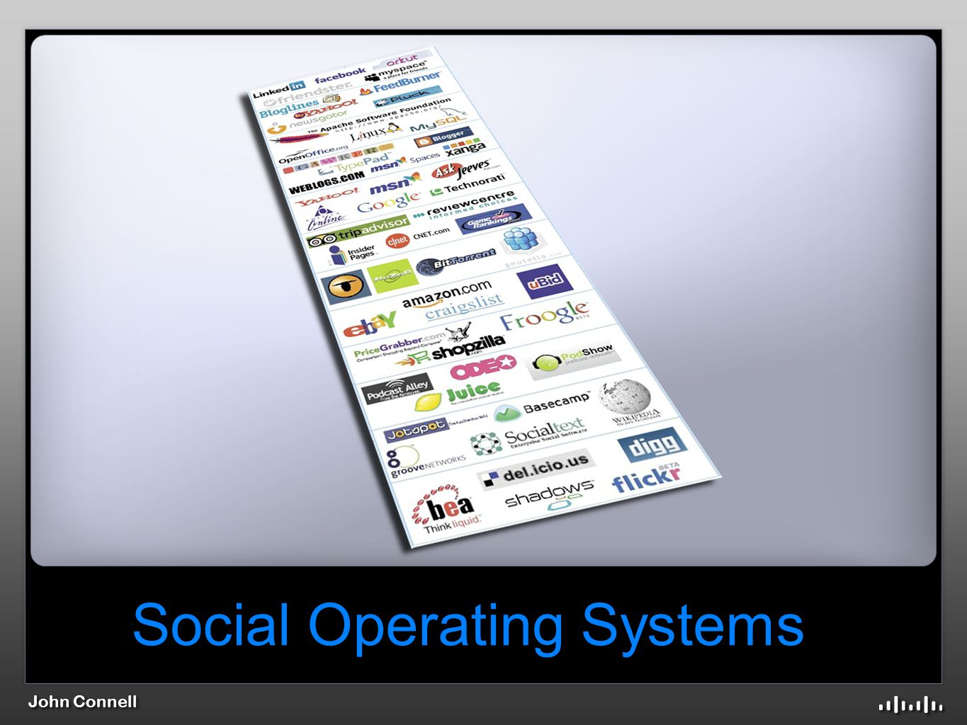 John Connell Social Operating Systems