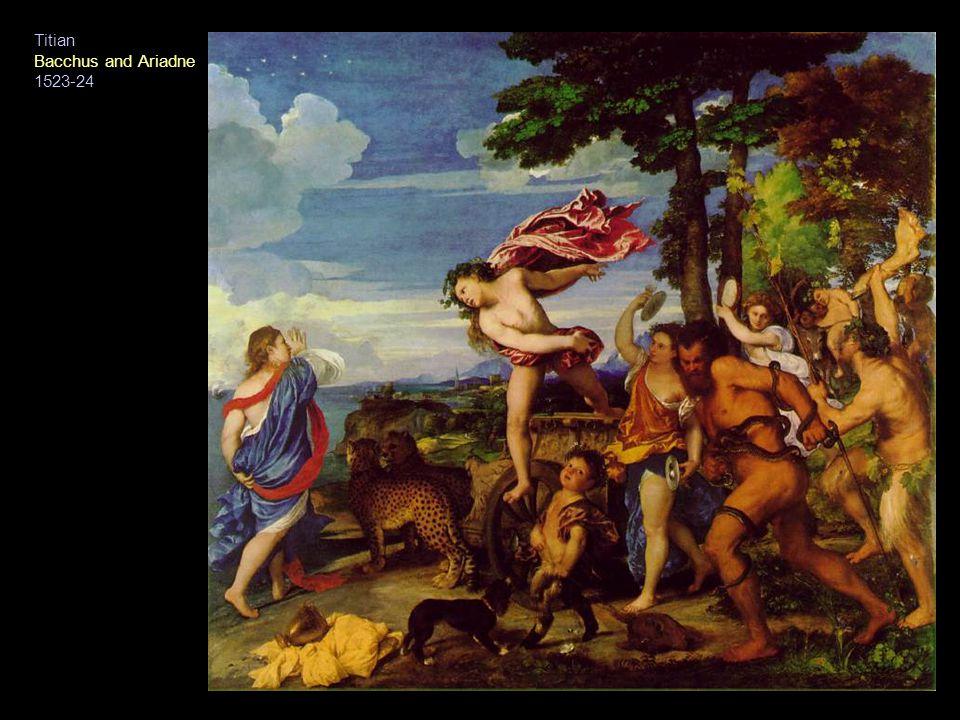 Titian Bacchus and Ariadne 1523-24