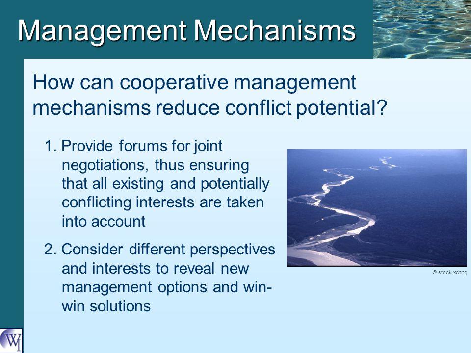 Management Mechanisms 1.