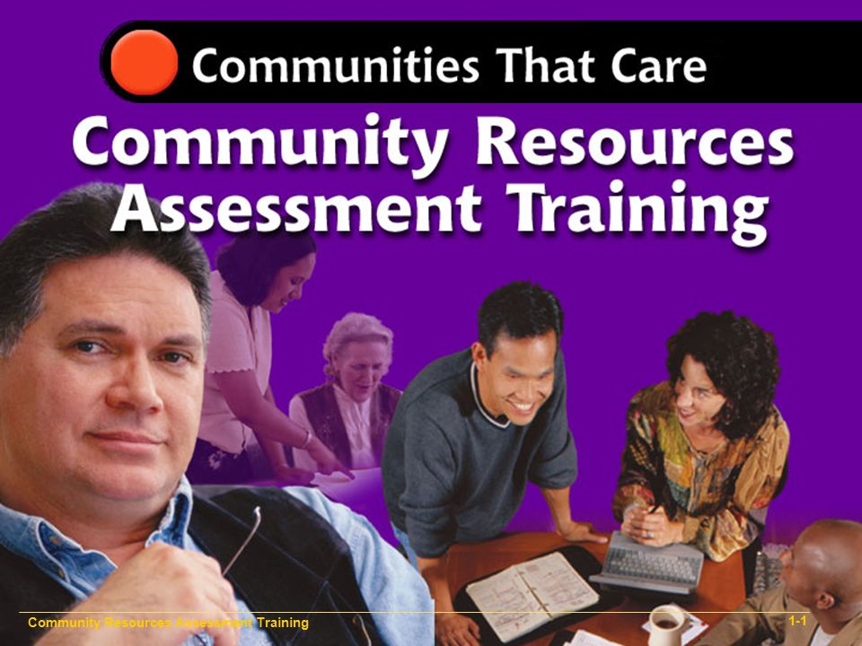 Community Resources Assessment Training 1-3