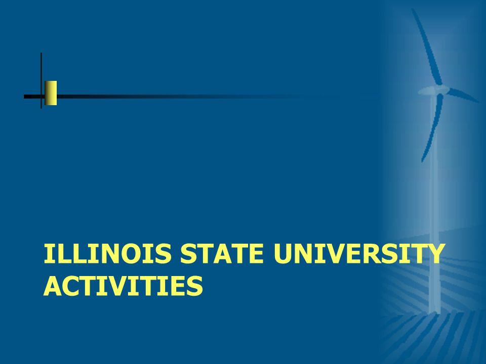 ILLINOIS STATE UNIVERSITY ACTIVITIES