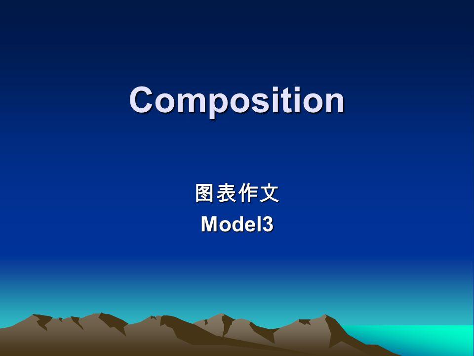 Composition 图表作文Model3