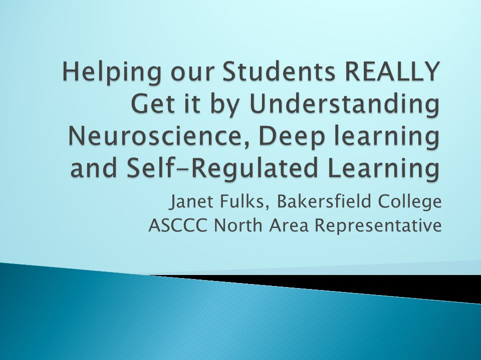 Janet Fulks, Bakersfield College ASCCC North Area Representative